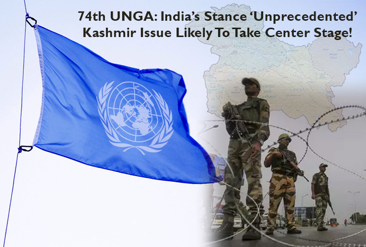 74th UNGA: India's Stance 'Unprecedented', Kashmir Issue Likely To Take Center Stage!