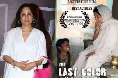 Neena Gupta Bags Award ib International Film Fest at Boston