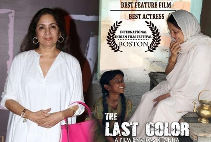 Neena Gupta Bags Award for 'Best Actress' at International Film Fest in Boston
