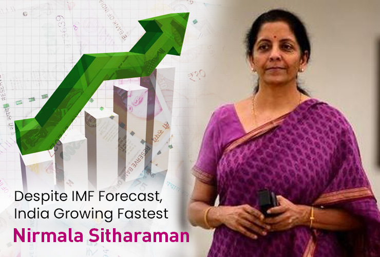 Despite IMF Forecast, India Growing Fastest: Nirmala Sitharaman