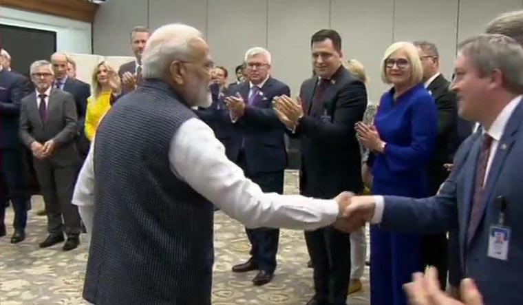 EU Lawmakers - Prime Minister Modi