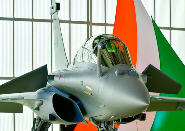 India Gets Its First Rafale Fighter Jet