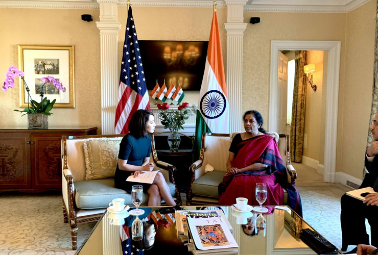 India Not Part of China's BRI, That's 'Territorial Dispute': Nirmala Sitharaman