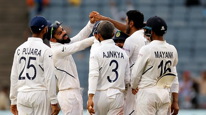 India Wins Test Series on South Africa