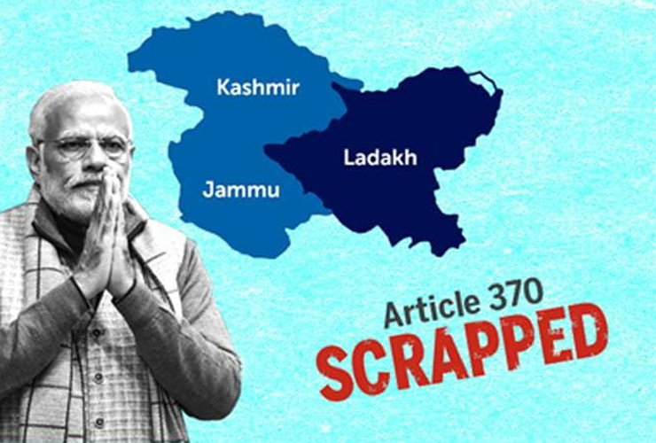 J&K, Ladakh Officially Join India's Union Territories!