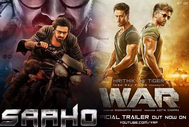 Prabhas' Sahoo, Hrithik's War Join Top-20 Highest-Grossing Indian Films