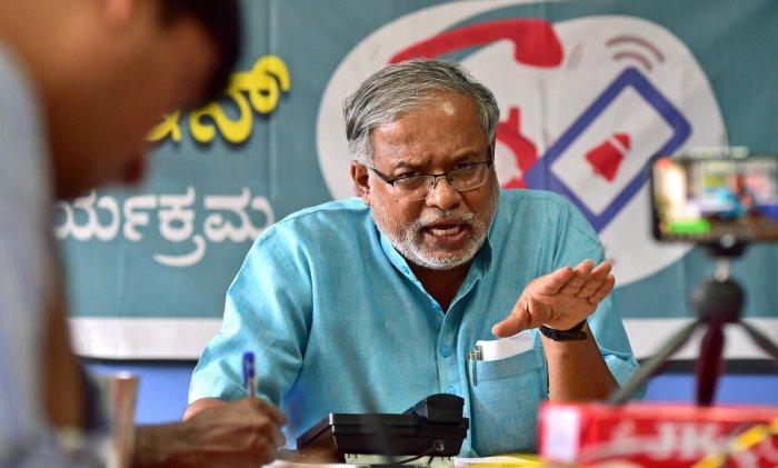 Suresh Kumar Karnataka Minister in Charge of Sakala