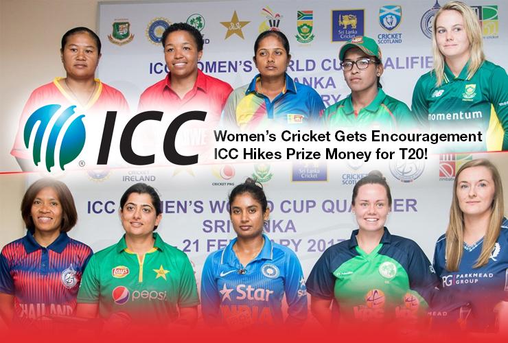 Women's Cricket Gets Encouragement, ICC Hikes Prize Money for T20!