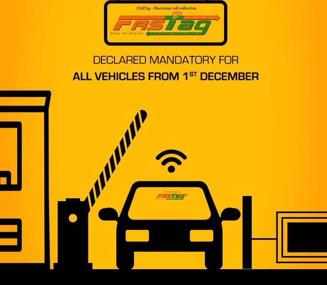 FASTag Declared Mandatory for All Vehicles