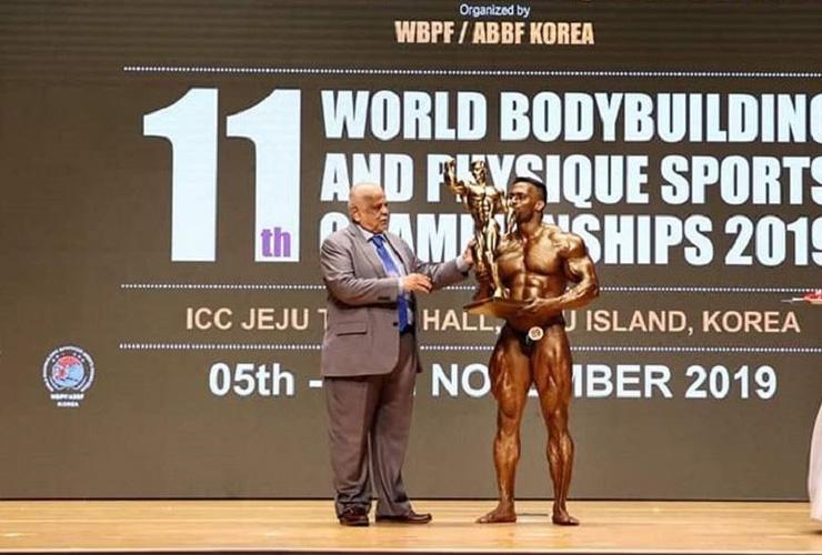 Bodybuilding Championship: India's Natesan Bags 'Mr. Universe' Title!