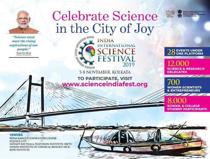 Celebrate Science in the City of Joy - IISF 2019