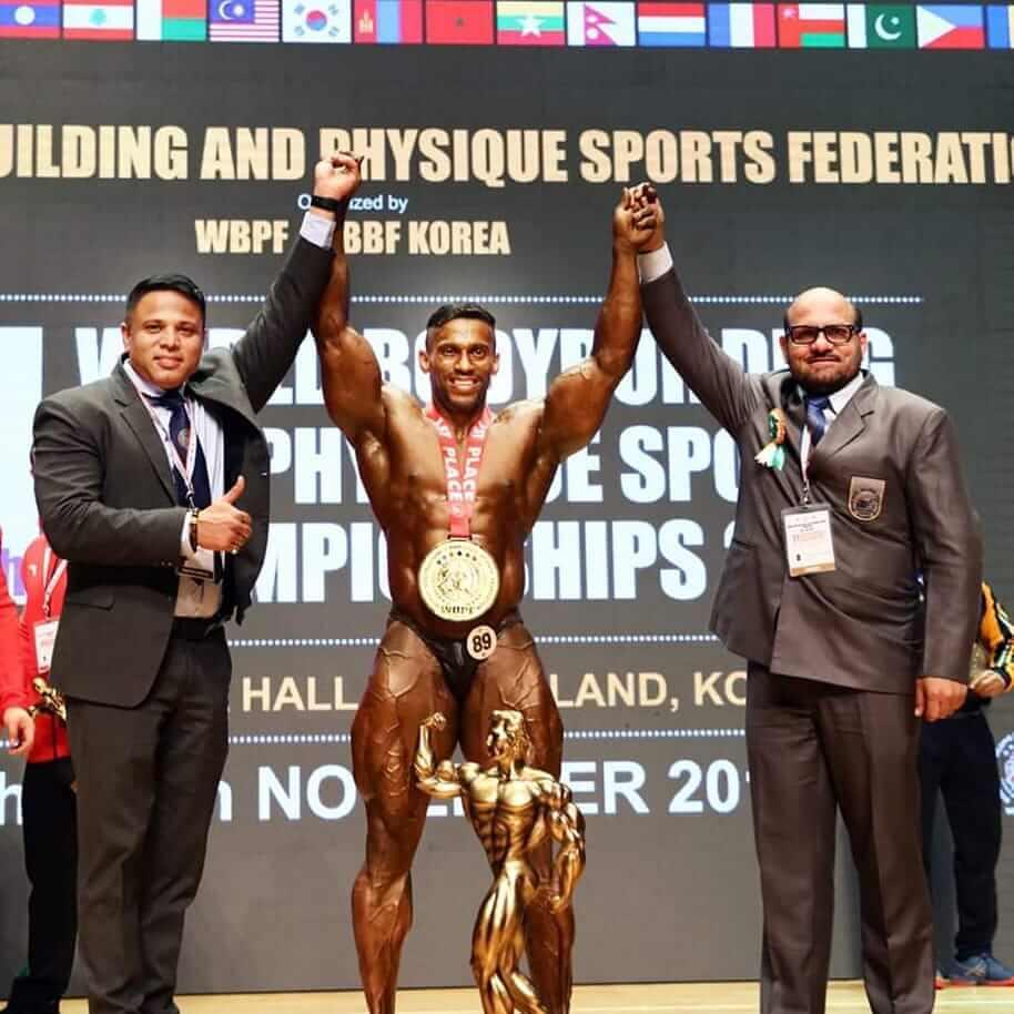 Chitharesh Natesan Mr. Universe and Mr. World Titles