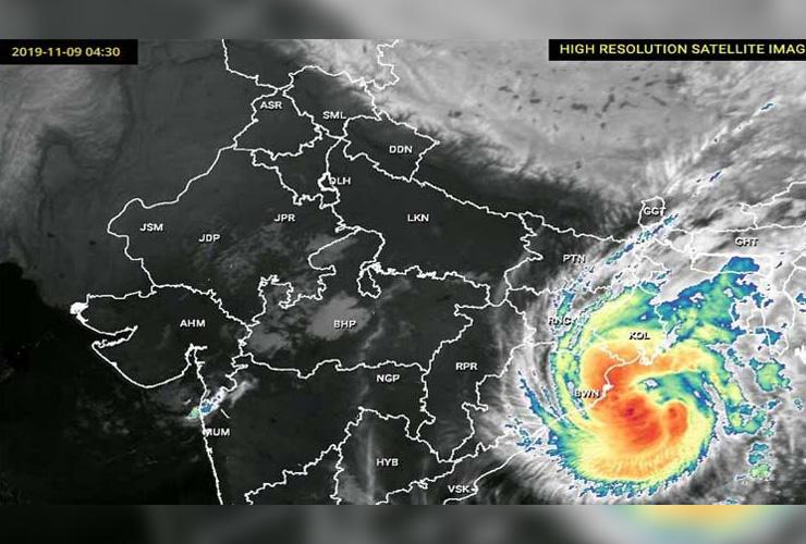 Cyclone 'Bulbul' Hits India, Bangladesh