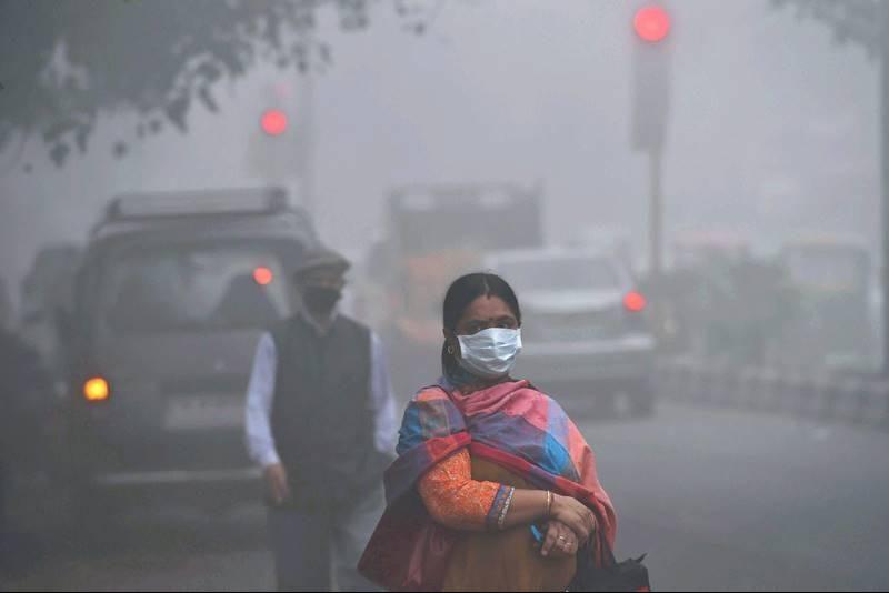 Delhi's Population Levels Turn 'Hazardous'