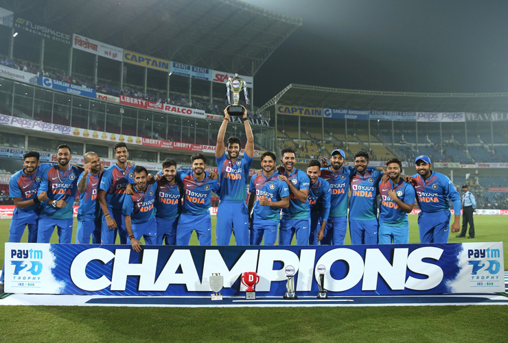 IND Vs BANGLA T20I Cricket: India Wins Series by 2-1