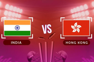 India Vs Hong Kong ACC Asia Cup