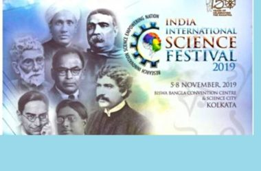 India International Science Festival (IISF) at Kolkata.