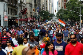 Indians in US Rise By 489% Between 1990-18