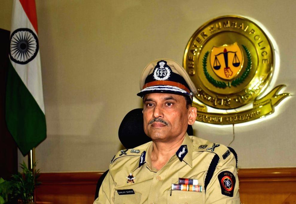 Mumbai Police Commissioner Sanjay Barve