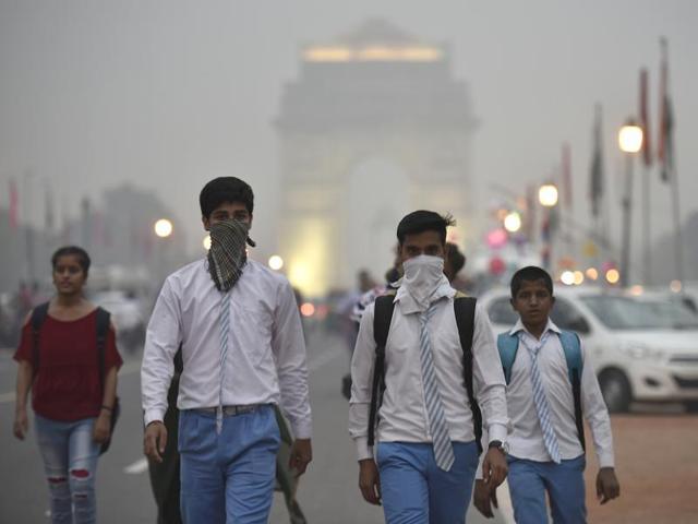 School Children in the City