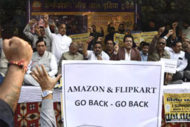 Amazon and Flipkart Go Back