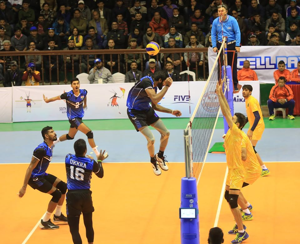 13th South Asian Games India Handball Game