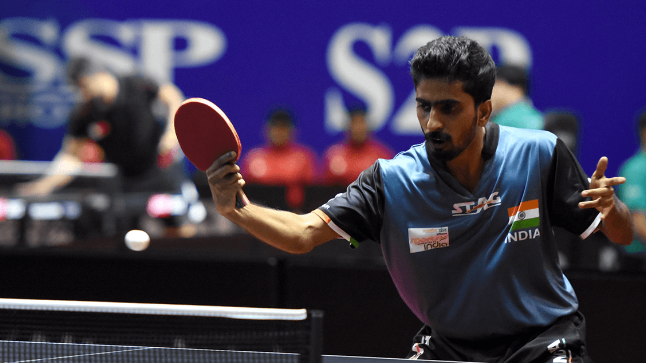 13th South Asian Games India Table Tennis
