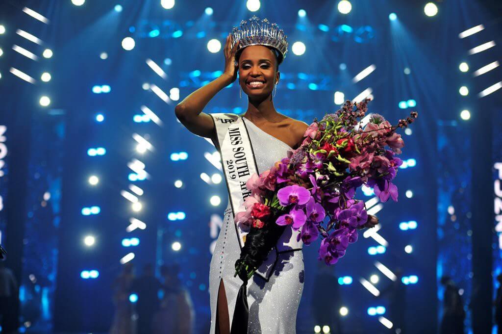 Miss South Africa' Zozibini Tunzi