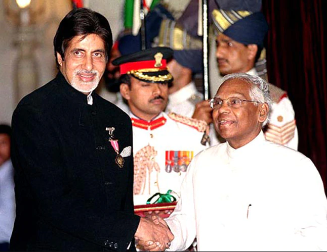 Padma Shri Award Amitabh Bachchan