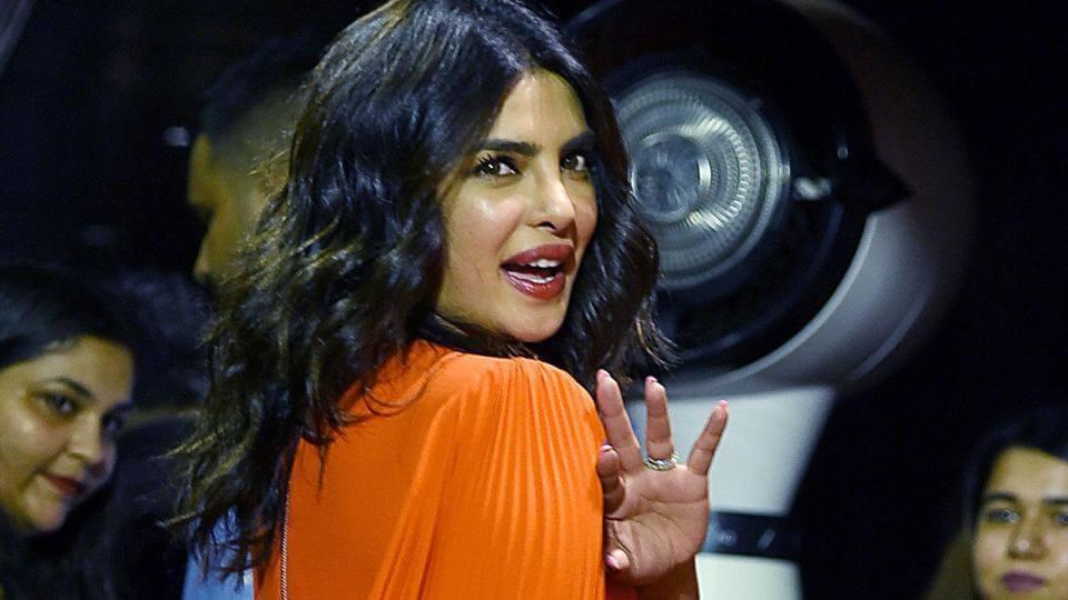 Priyanka Chopra as the Executive Producer
