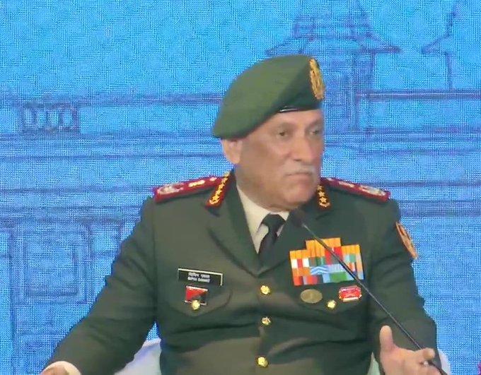 Chief of Defense Staff (CDS) Bipin Rawat