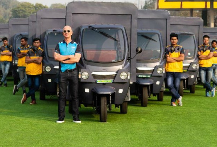 #ClimatePledge: Amazon India Announces 10,000 EVs in India by 2025