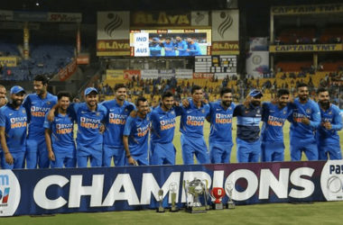 IND Vs AUS ODI Series 2020: India Win By 2-1!