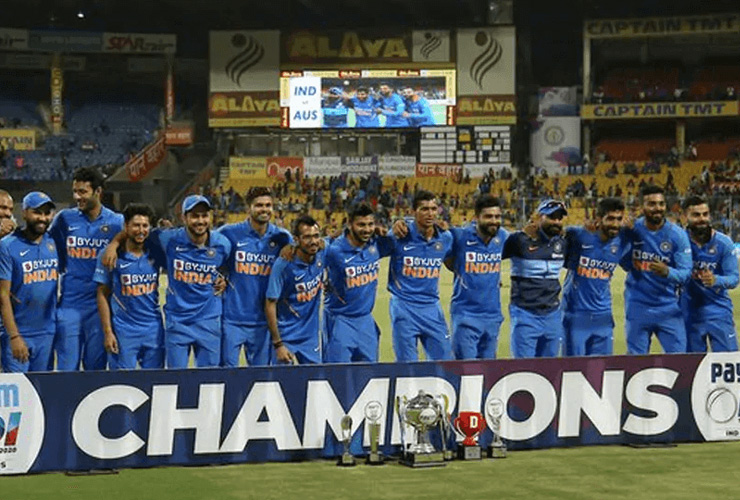 IND Vs AUS ODI Series 2020: India Wins By 2-1!