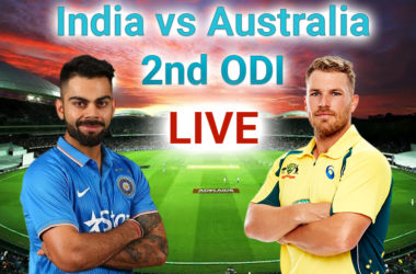 India Vs Australia 2020 ODI Series: Watch Live Match-2!