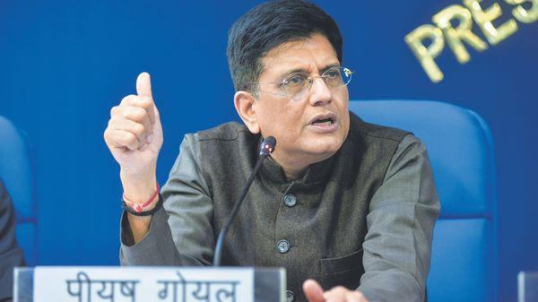 Union Commerce Minister Piyush Goyal