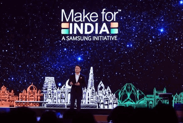 Samsung Announces USD 500 Mn Investment in India Ops
