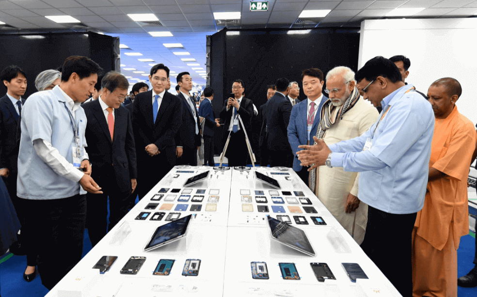 South Korean Samsung Smartphones and Other Products