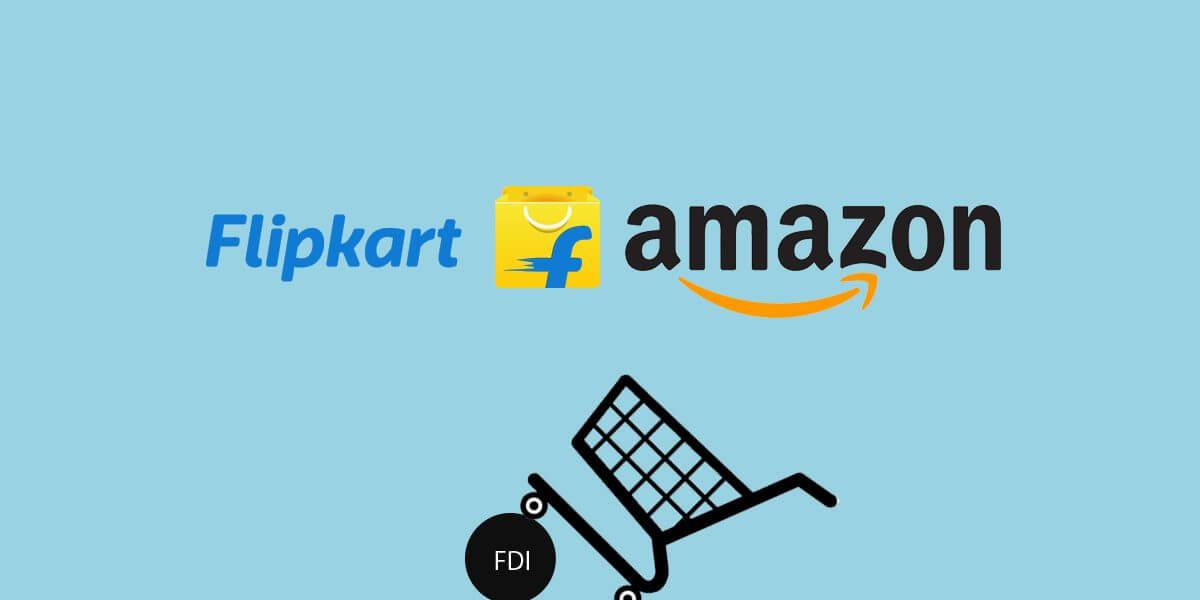 Two Ecommerce Giants Amazon and Flipkart