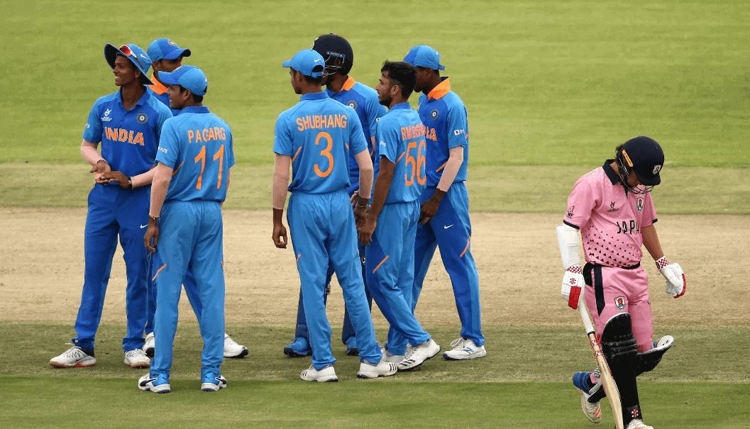 U19 World Cup Cricket 2020 India Vs Japan