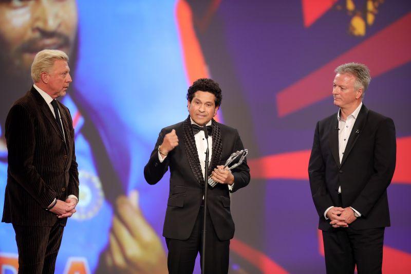 Sachin Wins Laureus Sporting Moment Award