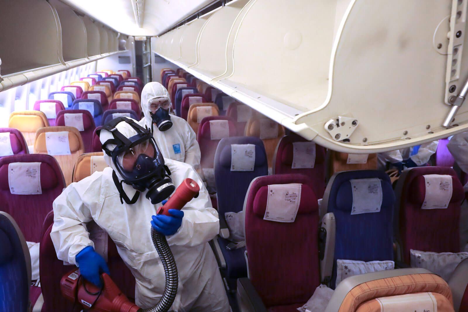 Air Travel Aids Coronavirus Spread