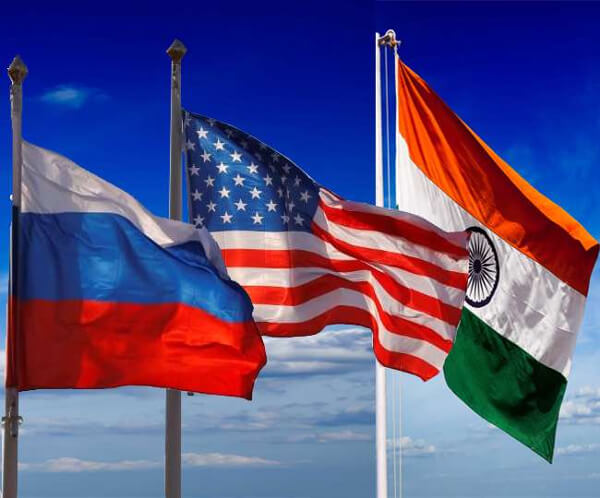 Around India, US and Russia