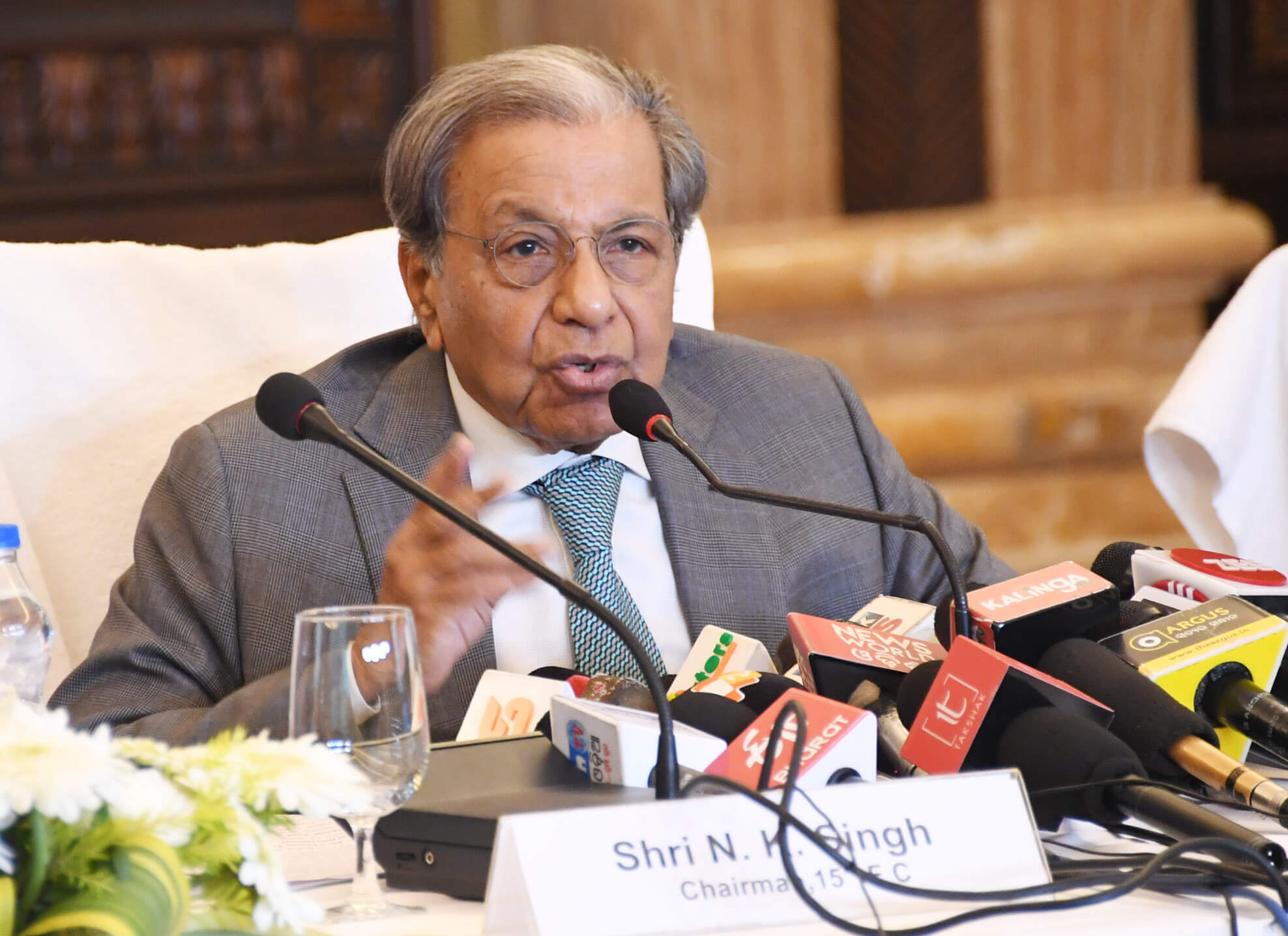 Finance Commission Chairman NK Singh