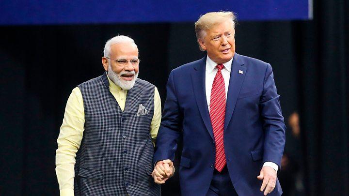 Modi and Trump 2020