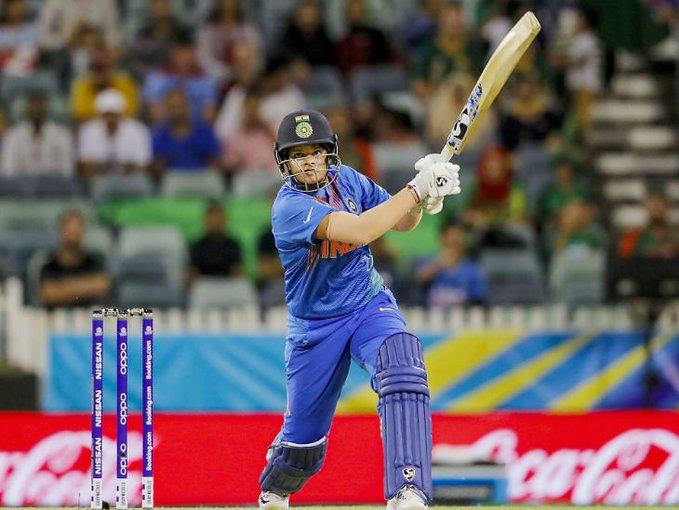 Shafali Varma Emerged as the Top Scorer