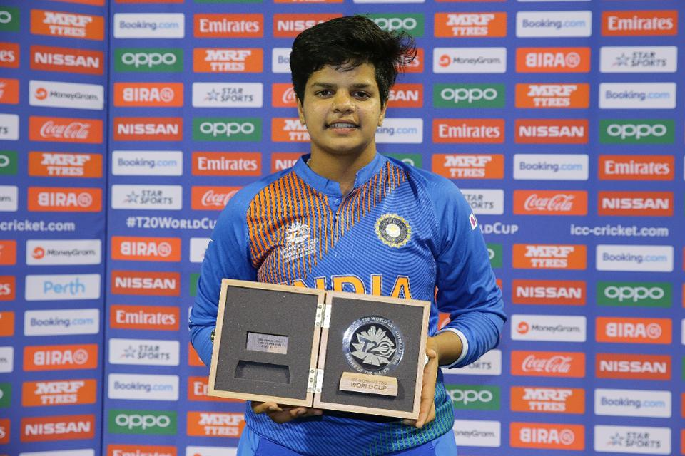 Shafali Varma Women T20 Cricket Player