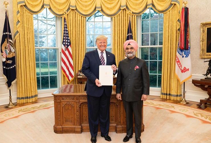 Taranjit Singh Sandhu – India's New Ambassador to US