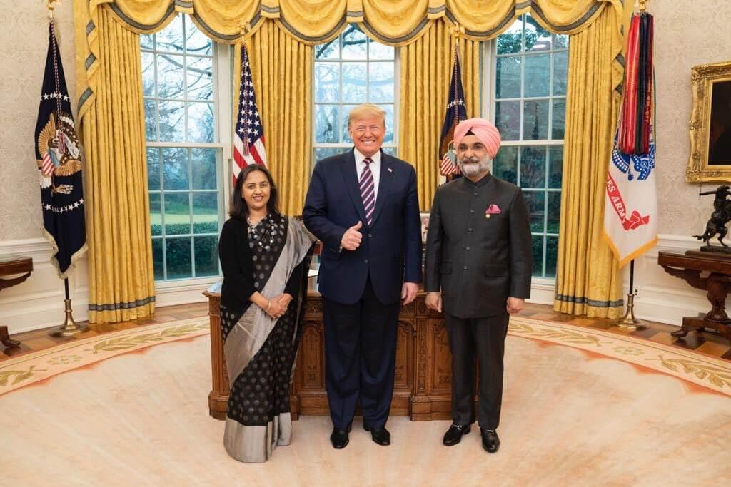 Taranjit Singh Sandhu New Ambassador to US