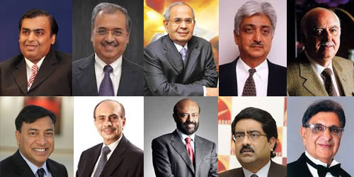 Top 10 Billionaires from India
